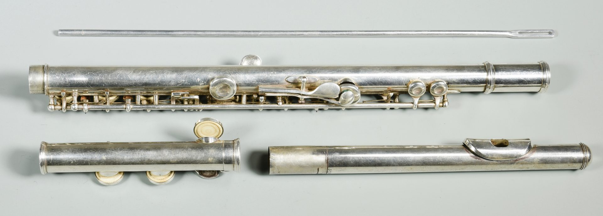 Lot 158: Selmer Company Sterling Flute w/ Case