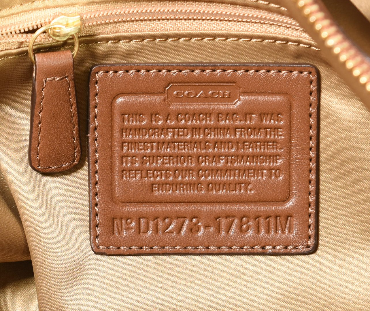 Lot 165: 2 Coach Handbags, NWT