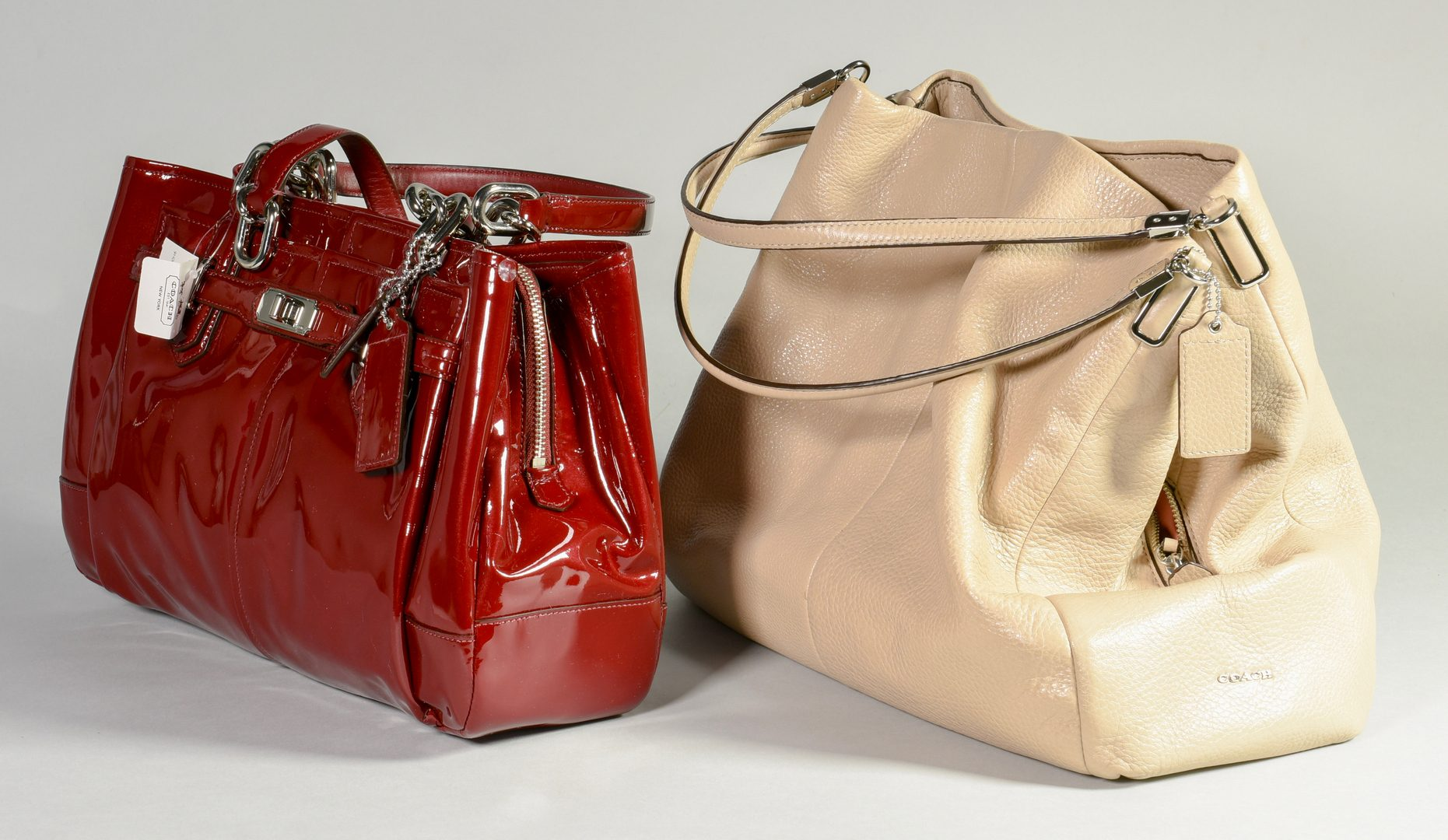 Lot 166: 2 Coach Purses, including NWT