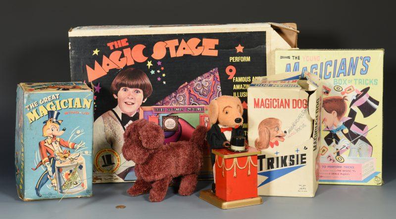Lot 169: Magician Al DeLage items