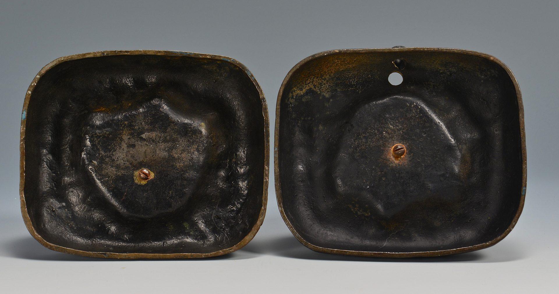 Lot 170: 7 Cast Iron Doorstops, attrib. Hubley &1 Figural