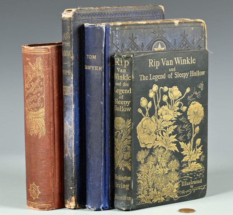 Lot 172: 4 Classic Lit Books inc. Tom Sawyer