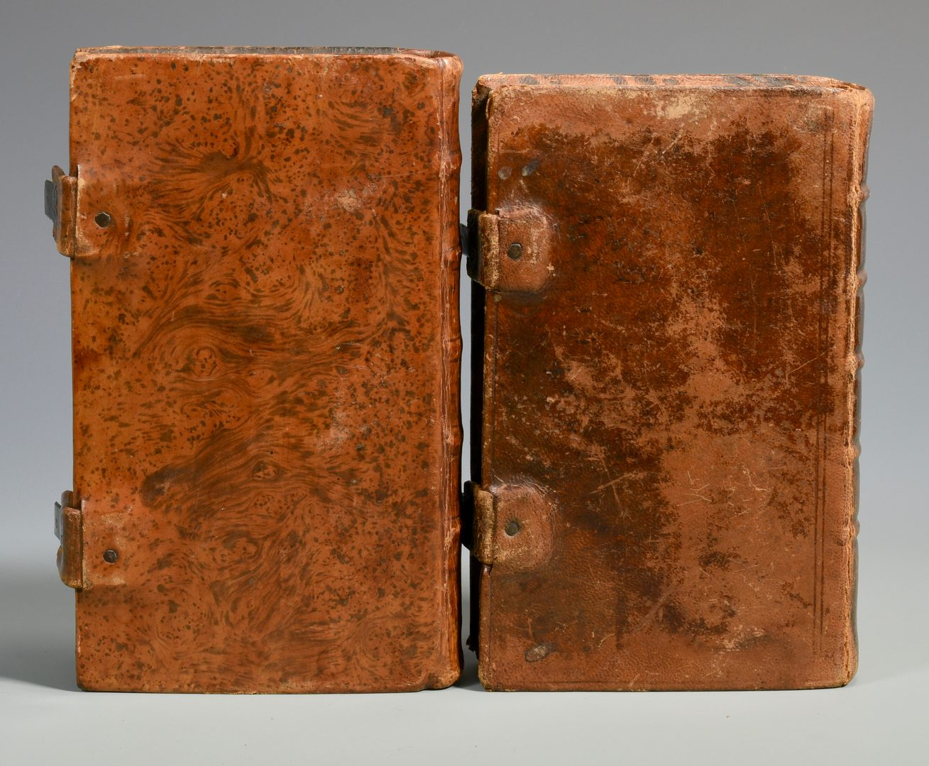 Lot 173: 4 Early German American Religious Books + Bronze Cross