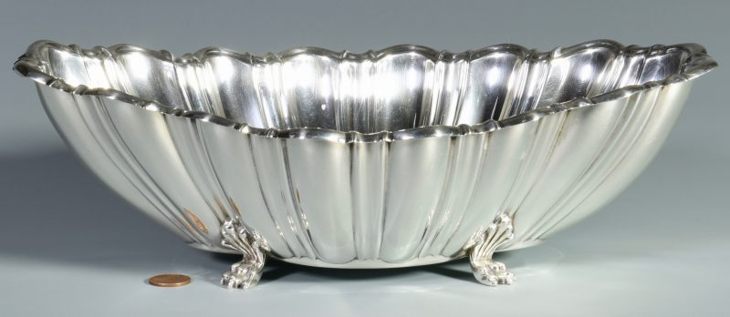 Lot 30: Reed & Barton Scalloped Sterling Bowl