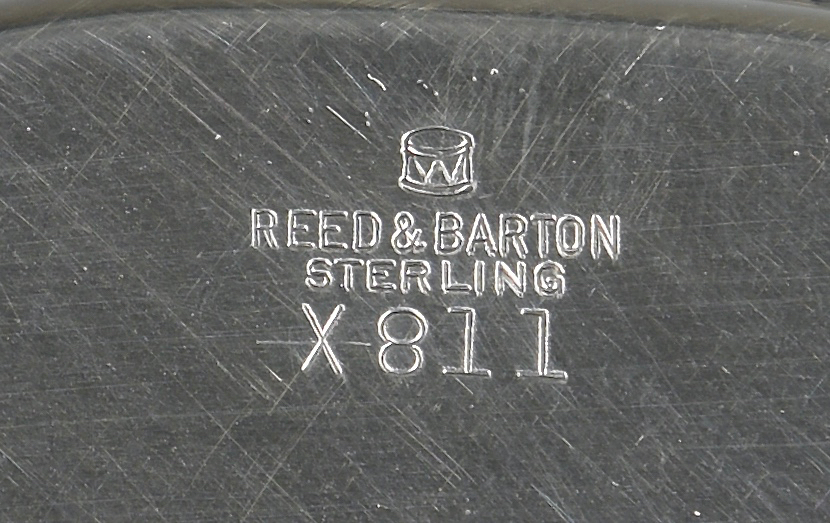 Lot 30: Reed & Barton Scalloped Sterling Bowl