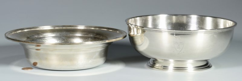 Lot 32: 2 Kirk & Son Sterling Silver Bowls