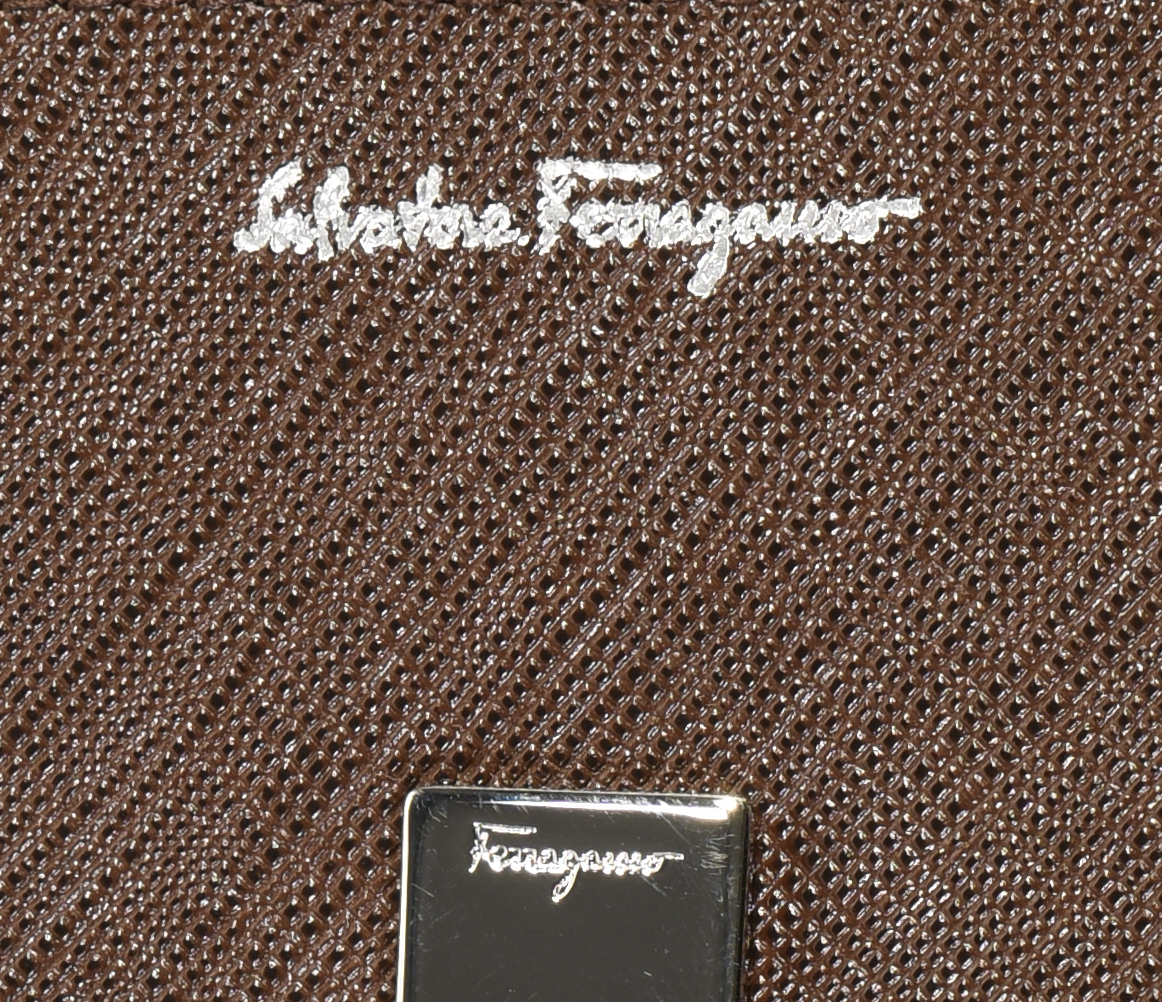 Lot 38: 2 Designer Wallets, Bosca & Ferragamo