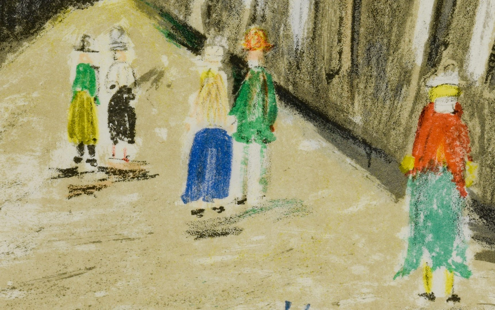 Lot 51: 2 Maurice Utrillo Colored Lithographs
