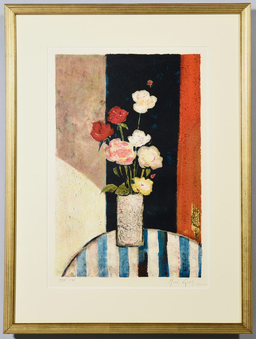 Lot 52: 2 Still Life Lithographs, incl. Picasso
