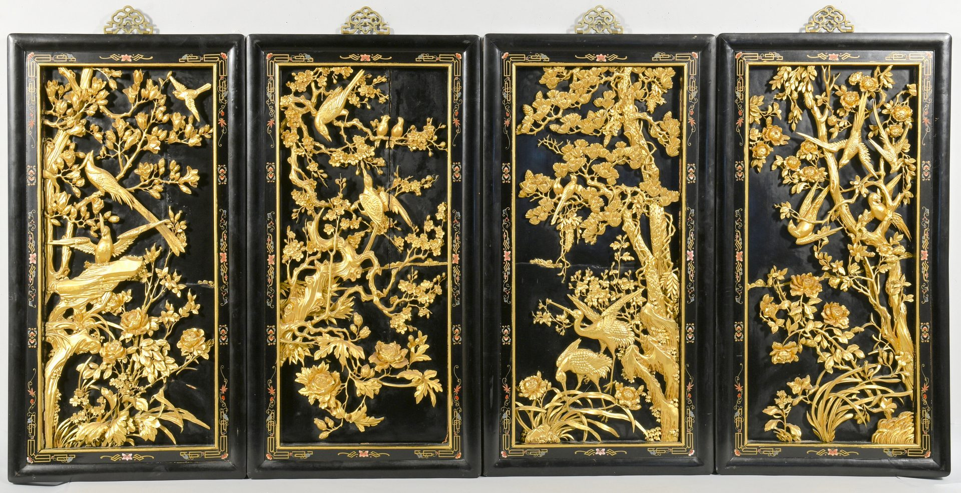 Chinese Black Lacquer Paint