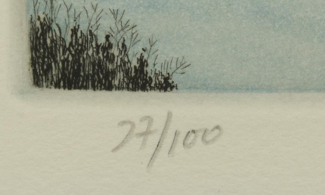 Lot 69: 2 Hiroto Norikane Japanese Etchings
