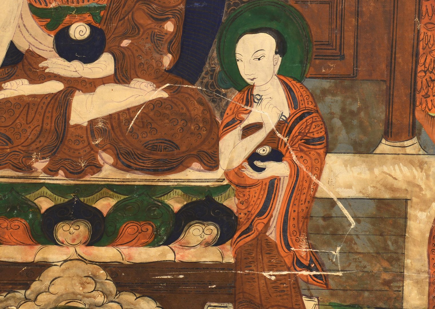 Lot 70: Sino-Tibetan Thangka