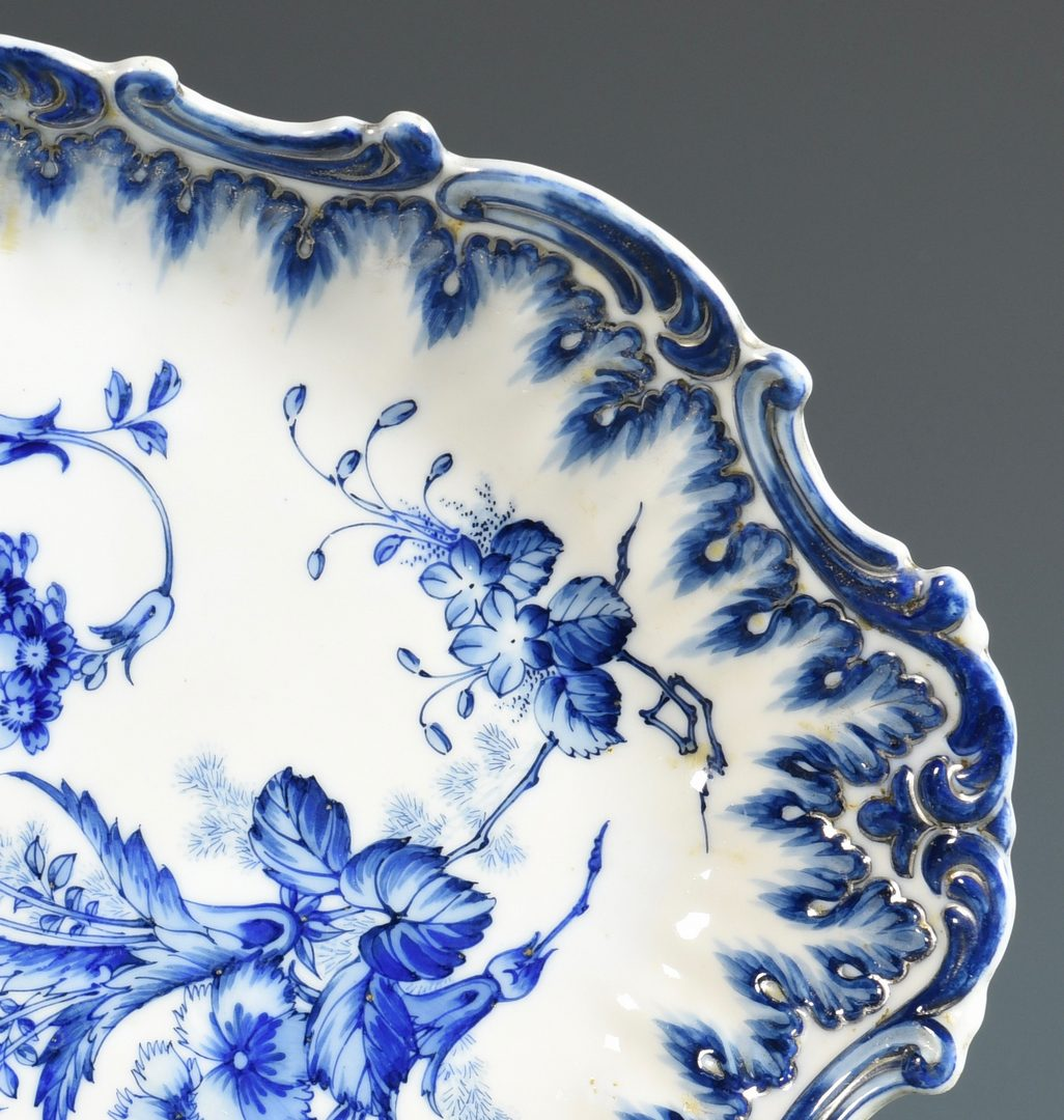 Lot 75: Blue and White Dish, Chinese or Chinoiserie