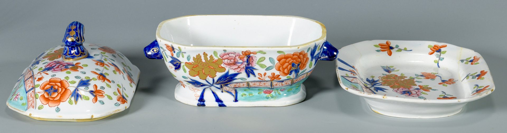 Lot 76: Group of 4 Asian Themed Porcelain Items