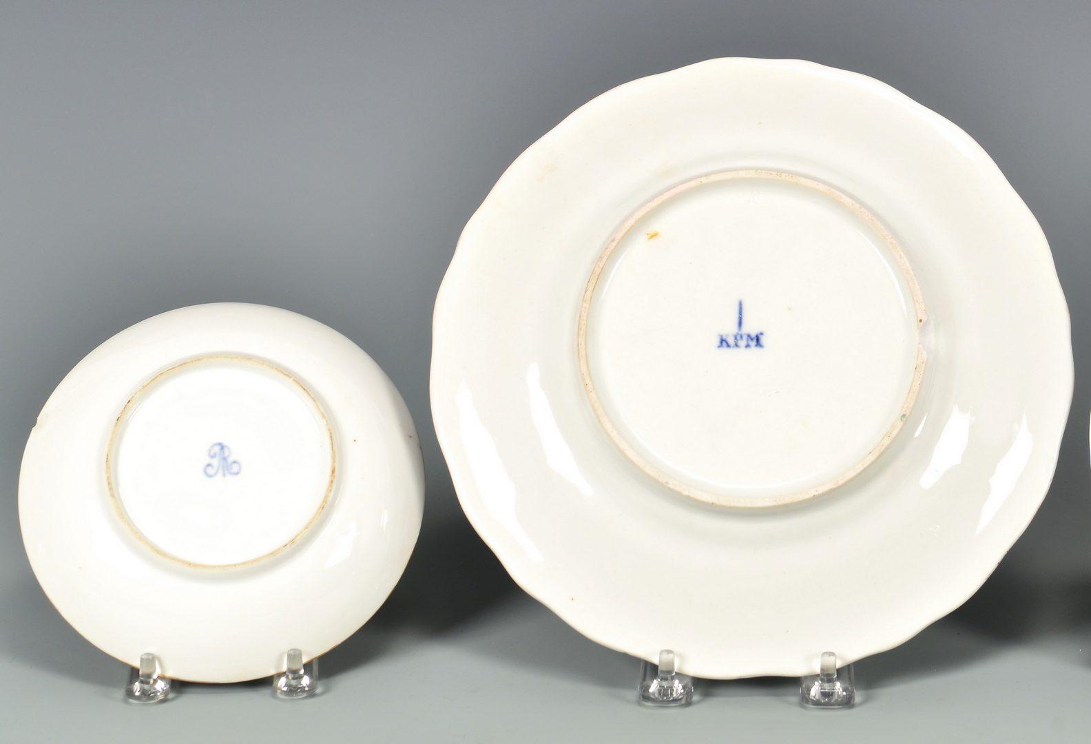 Lot 79: Group of Continental Porcelain, 6 pcs.
