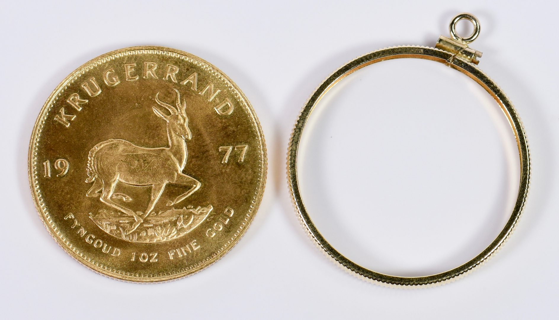 Lot 7: 1977 Krugerrand 1 oz Fine gold coin