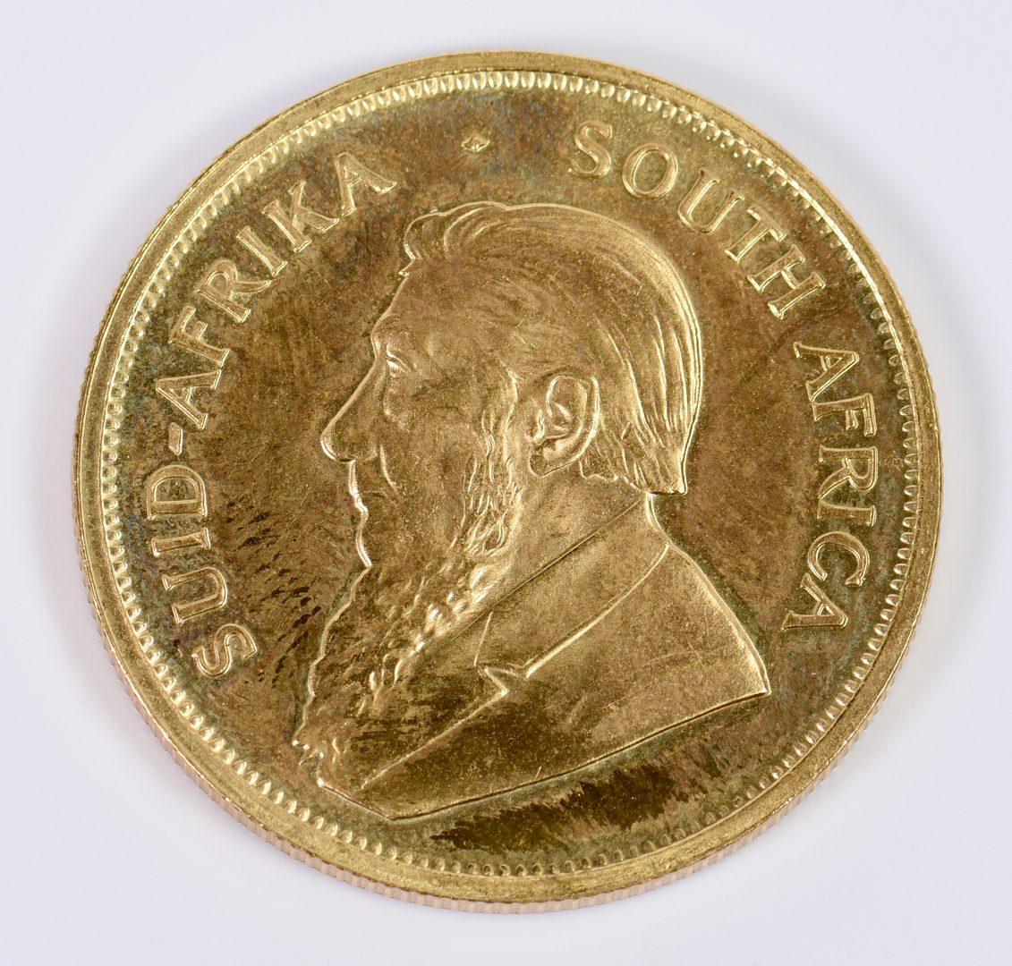Lot 7: 1977 Krugerrand 1 oz Fine gold coin