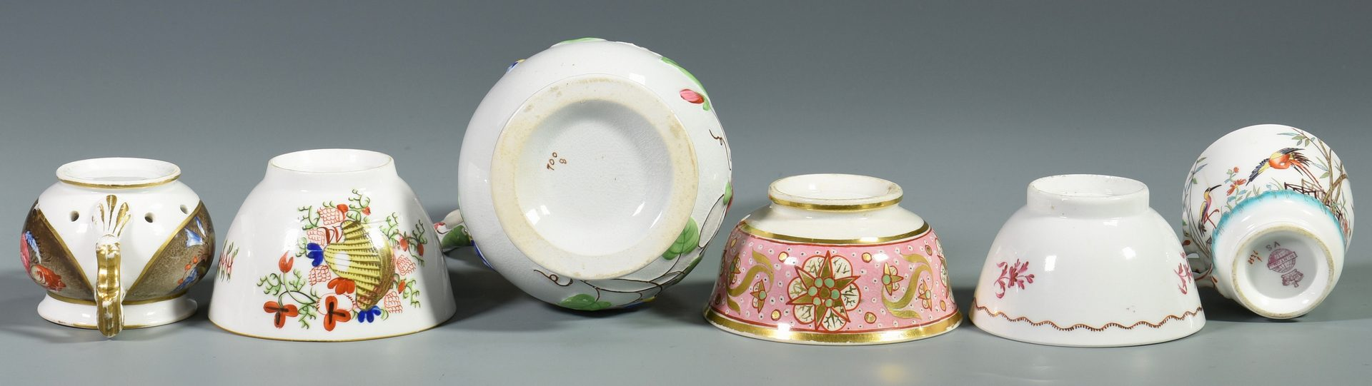 Lot 80: Assd. Group of European Porcelain, 16 items