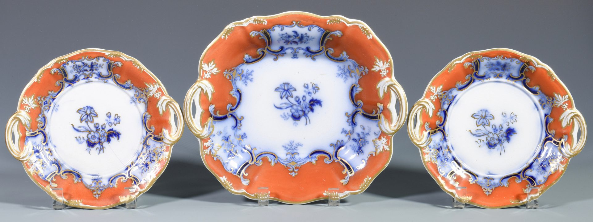 Lot 81: 8 Pcs. English Coalport Porcelain