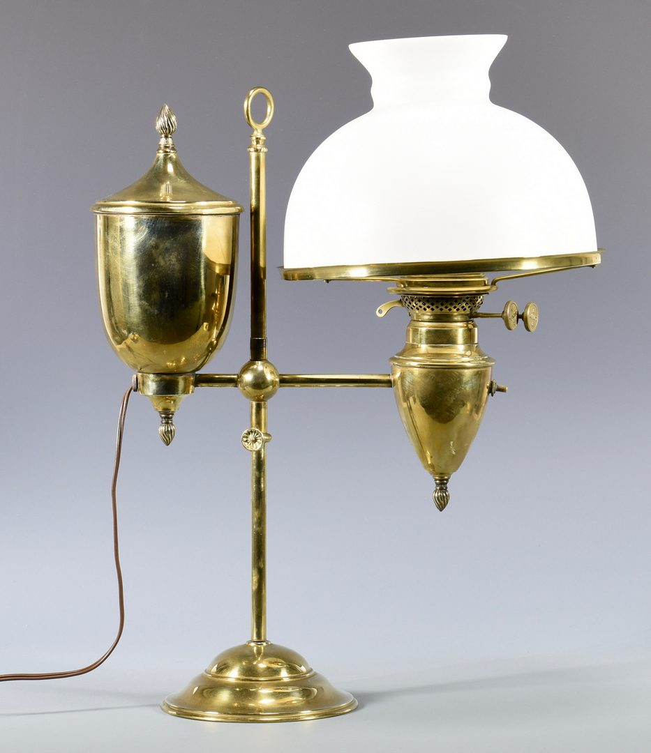 Lot 87: 4 19th Cent. American Oil Lamps