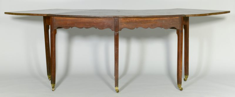 Lot 103: English Chippendale Hunt or Wine Table