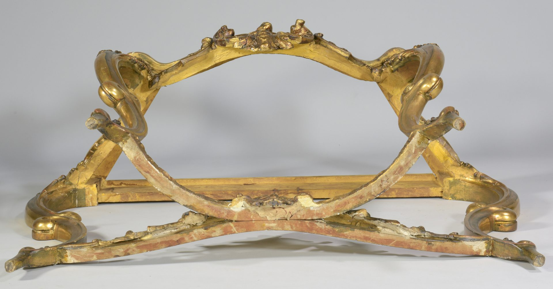 Lot 106: Italian Giltwood & Marble Console Table