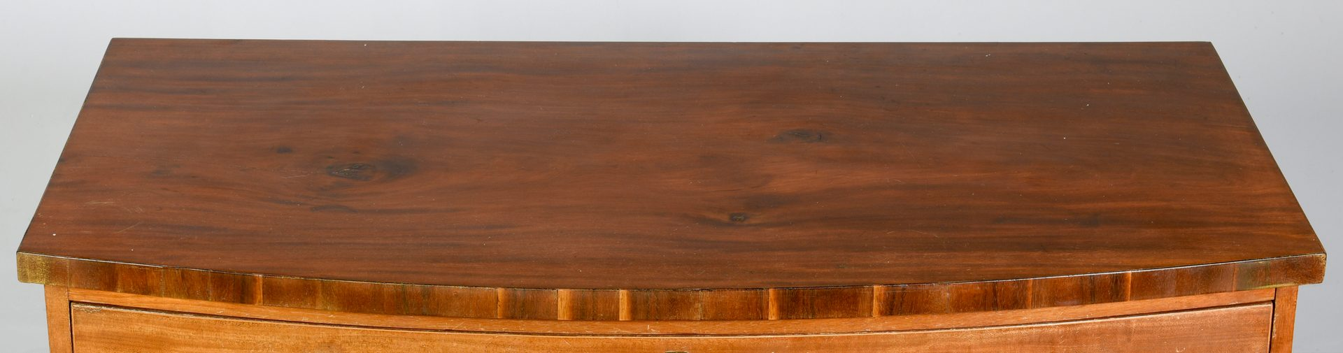 Lot 113: American Federal Bowfront Chest