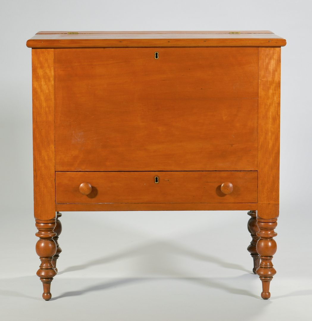 Lot 117: KY Sheraton Cherry Sugar Chest