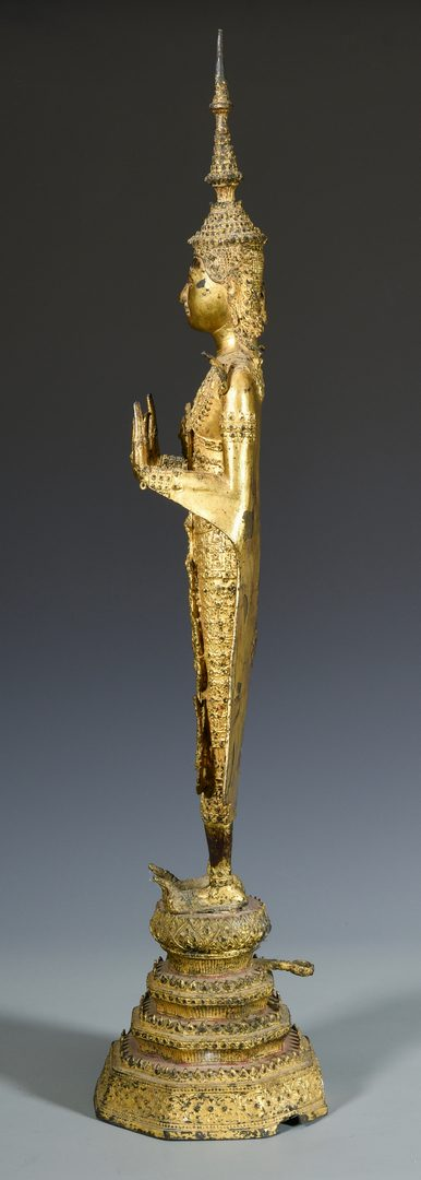 Lot 11: Southeast Asian Gilt Bronze Buddha