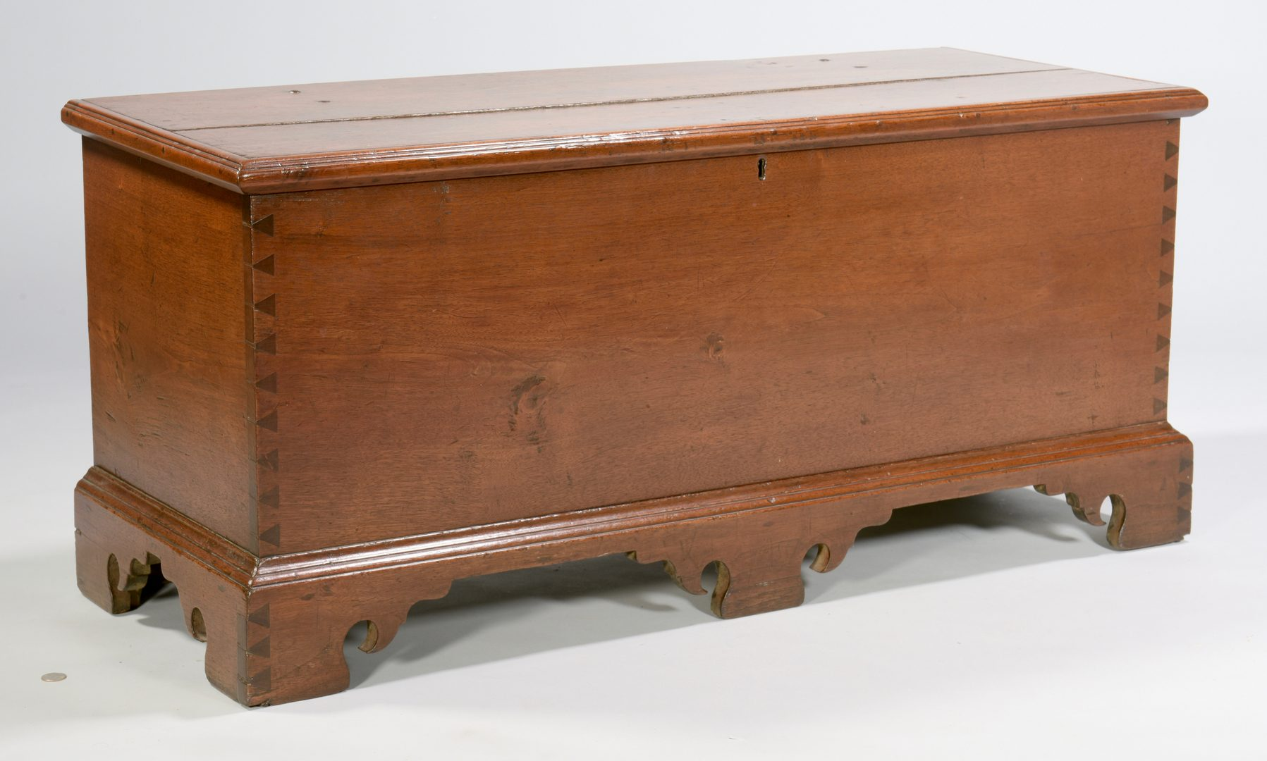 Lot 120: Southern Walnut Blanket Chest