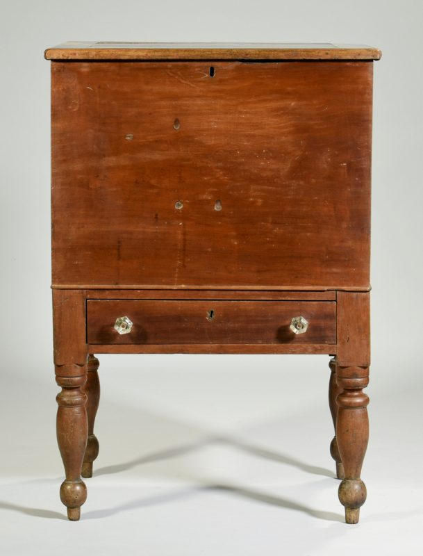 Lot 125: TN Cherry Sugar Chest, Hamilton Place History
