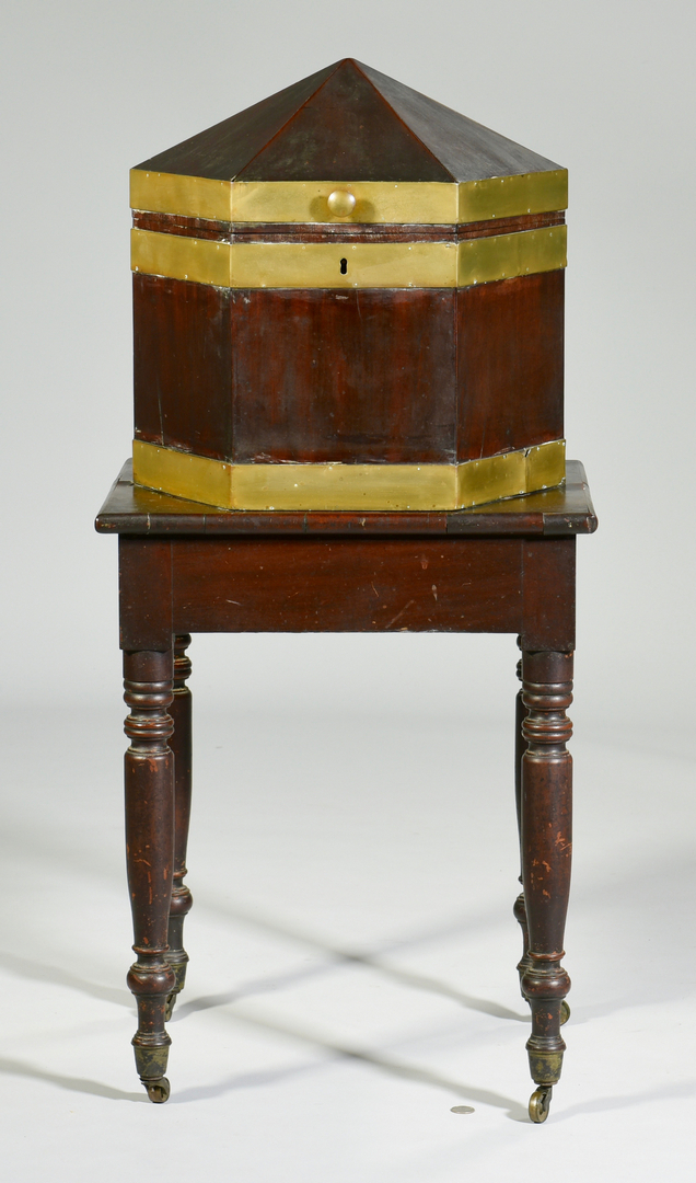 Lot 126 Southern Octagonal Cellarette On Stand