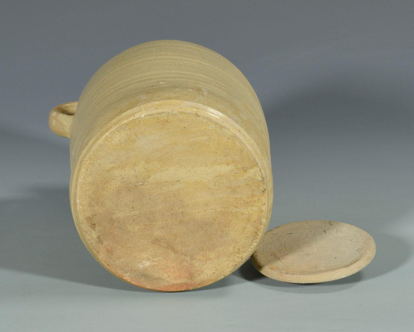 Lot 140: 2 pcs Alabama Stoneware, Daniel Cribbs