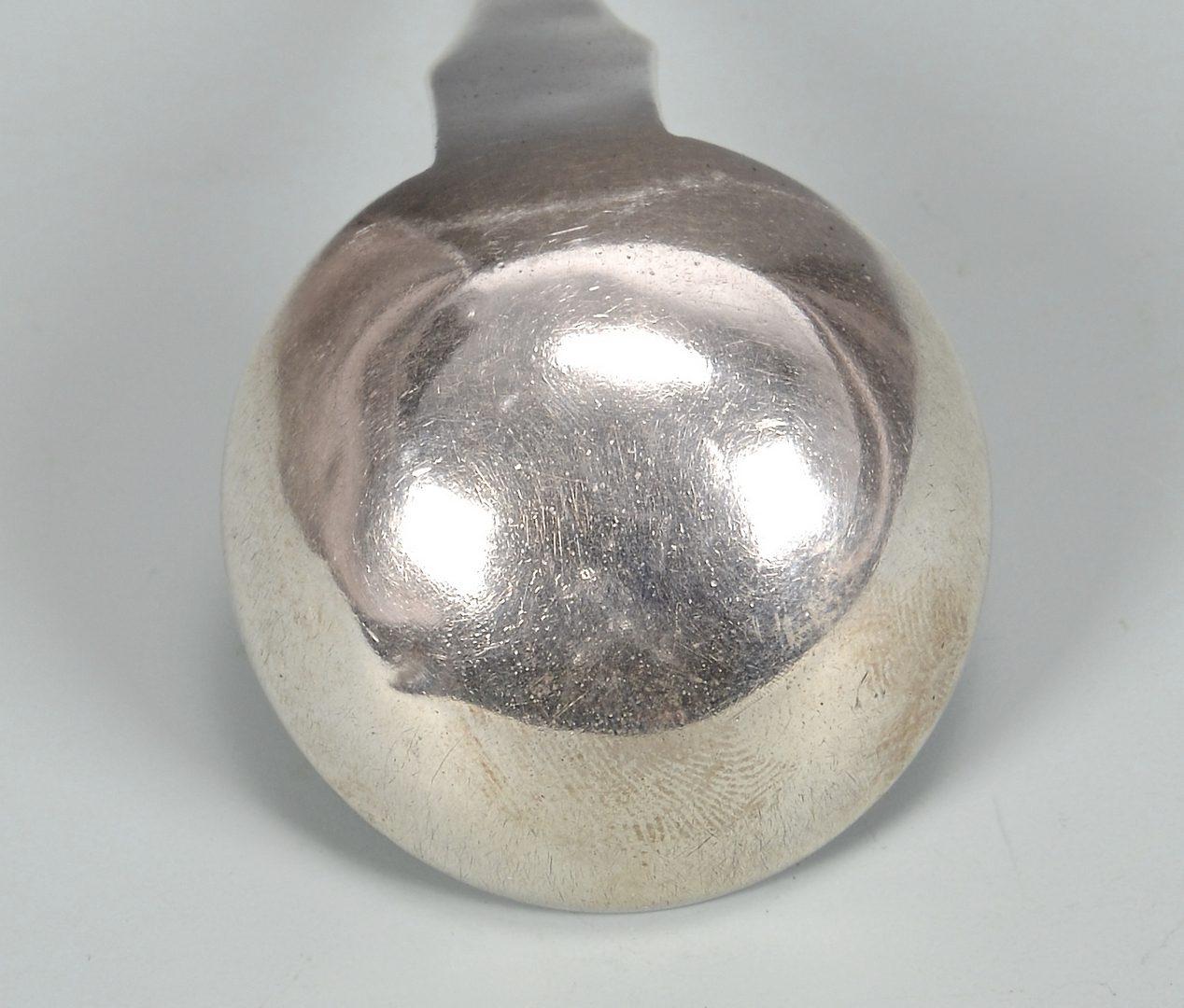 Lot 150: TK Marsh KY Coin Silver Gravy Ladle