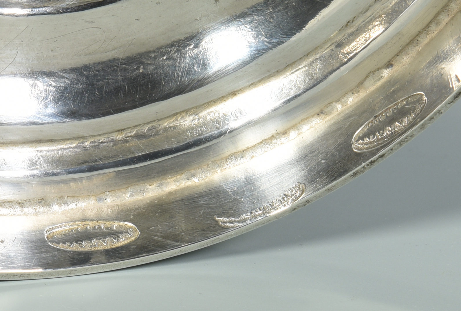 Lot 157: Philadelphia Coin Silver Waste Bowl, Yeatman Family History