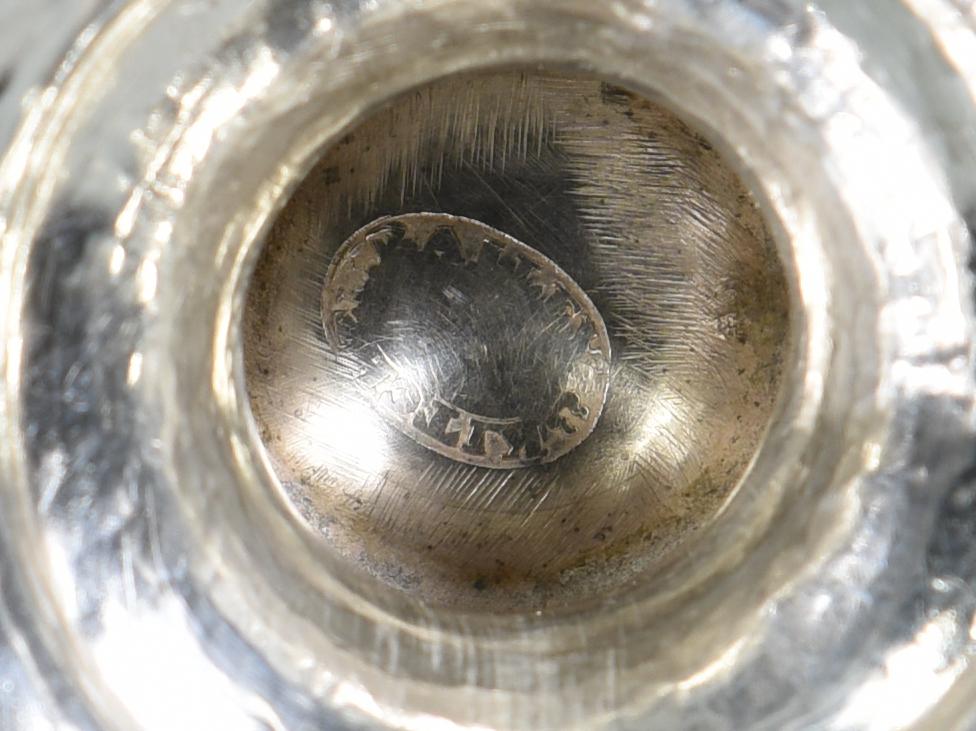 Lot 159: TN Agricultural Coin Silver Goblet, Devon Farm
