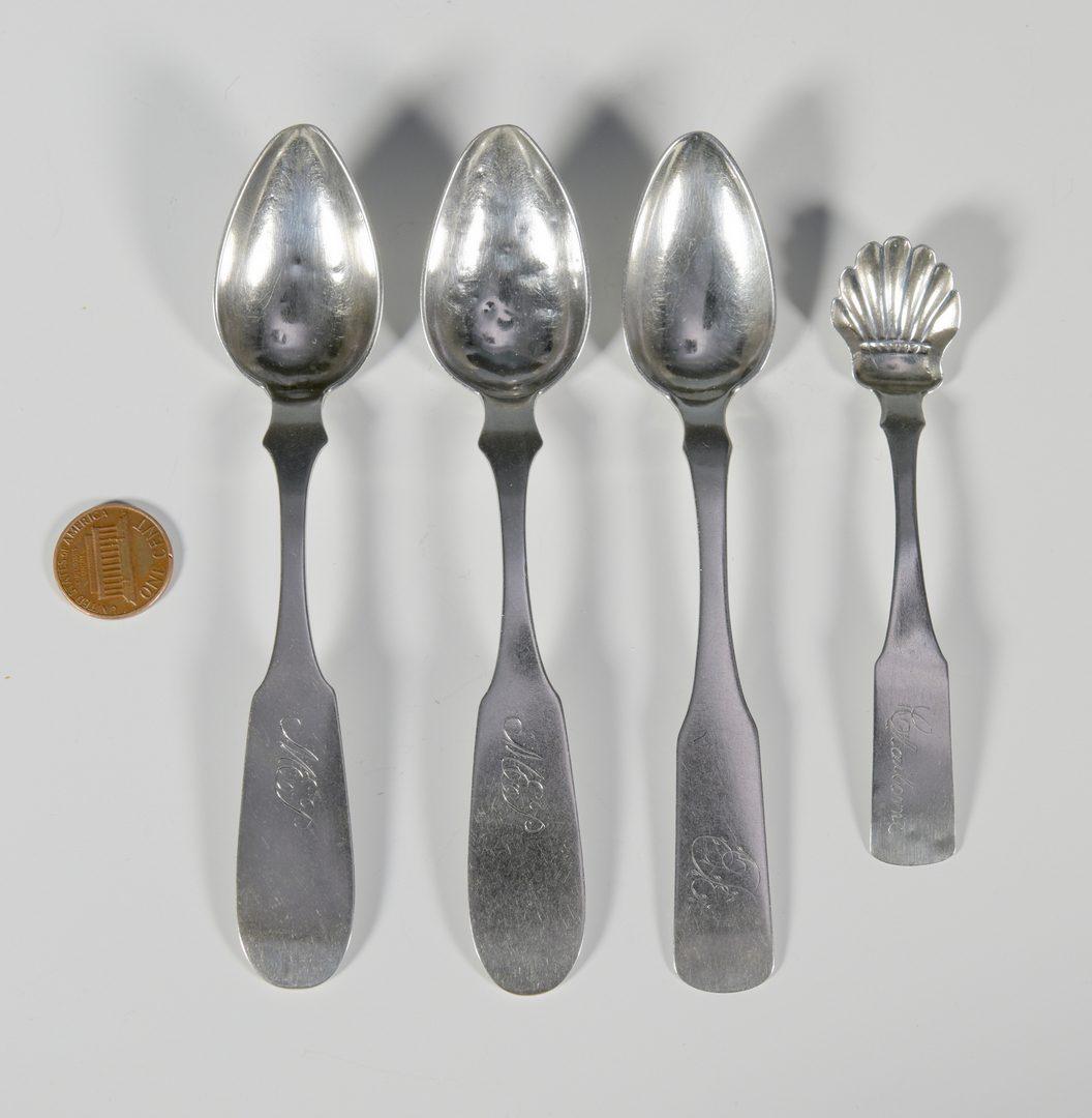 Lot 160: 4 pcs P. Negrin TN Coin Silver