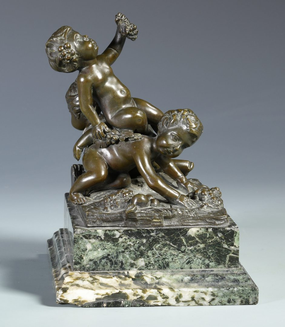 Lot 174: French Tahan Casket &  Bronze After Clodion