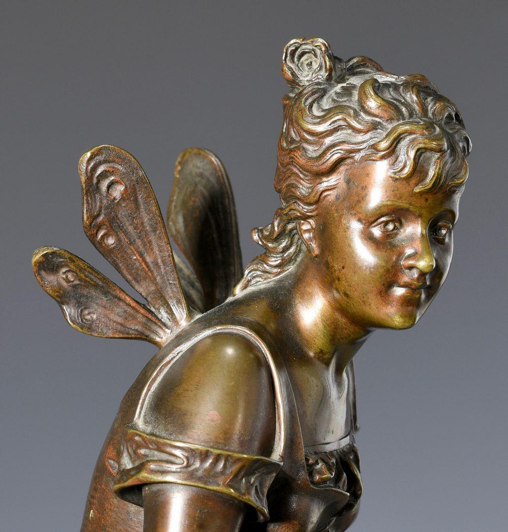 Lot 176: Eutrope Bouret Bronze Nymph
