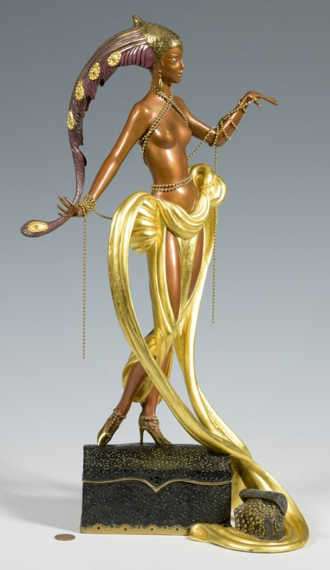 Lot 177: Erte Sculpture, Pleasure of the Courtesan