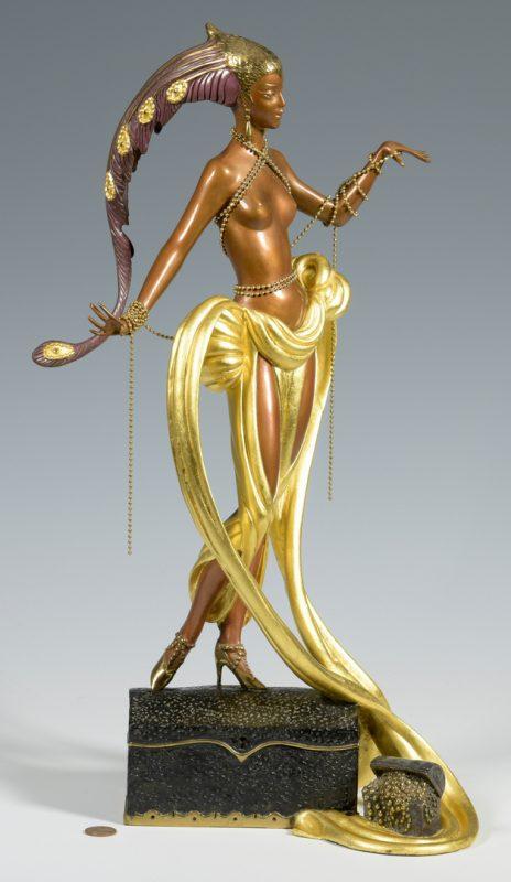 Lot 177: Erte Sculpture, Pleasure of the Courtesan