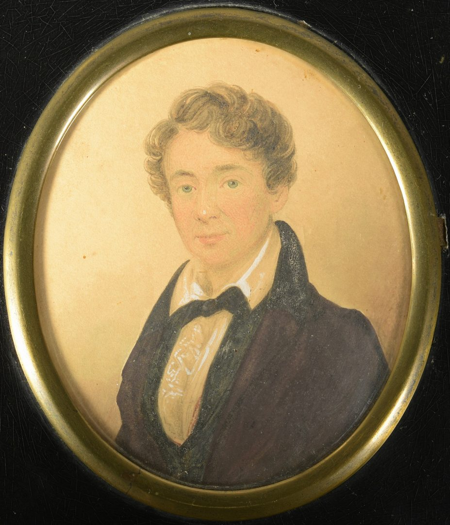 Lot 181: 4 Miniature Portraits