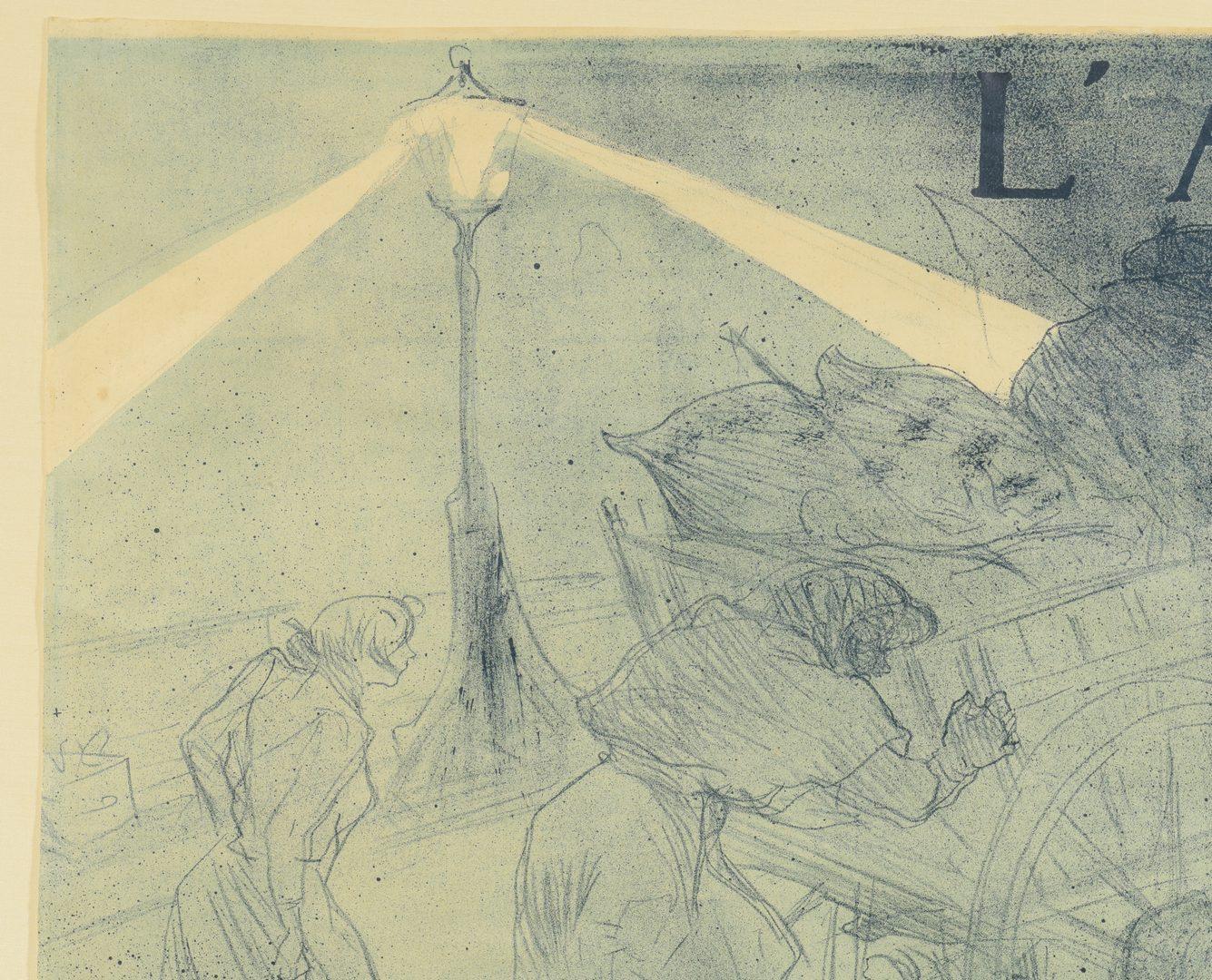 Lot 183: Toulouse Lautrec Lithograph