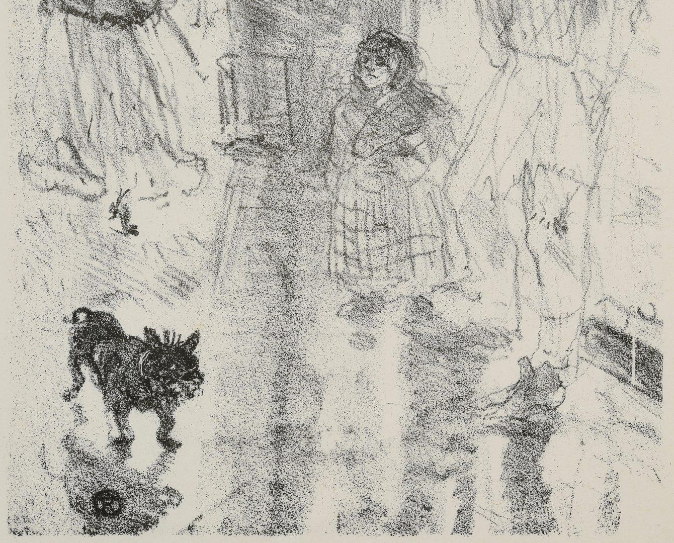 Lot 184: Toulouse-Lautrec lithograph, Le Marchand de Marrons