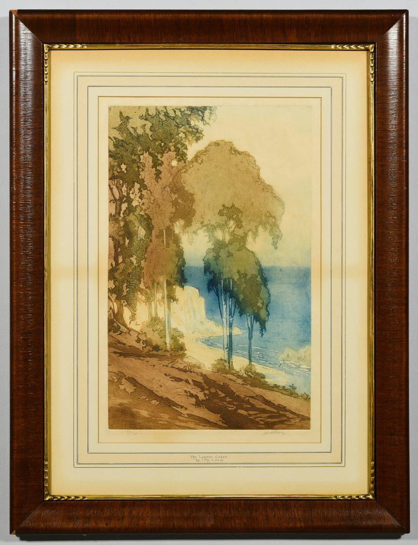 Lot 187: John W. Cotton Color Aquatint