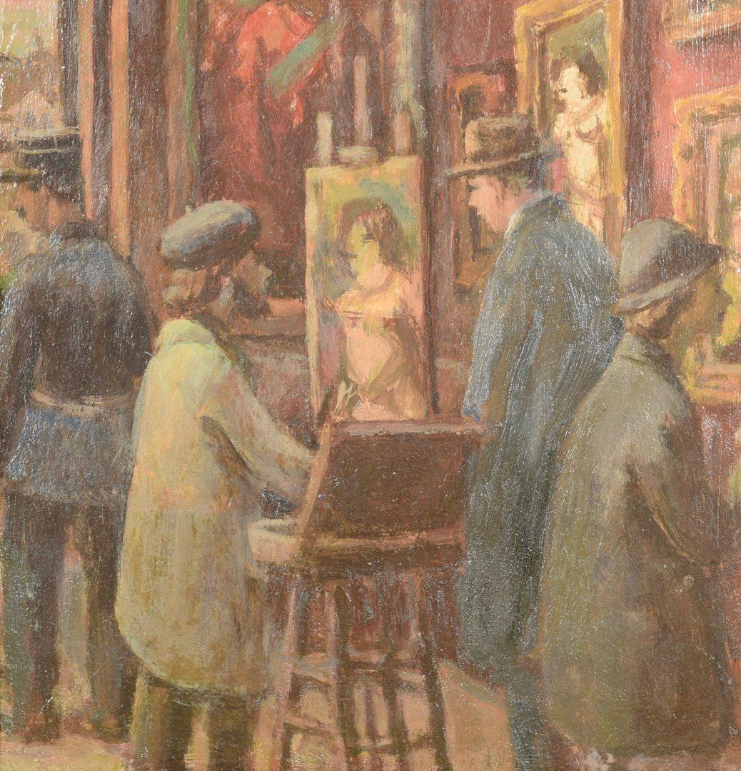 Lot 194: Gerritt Sinclair O/B, Art Gallery