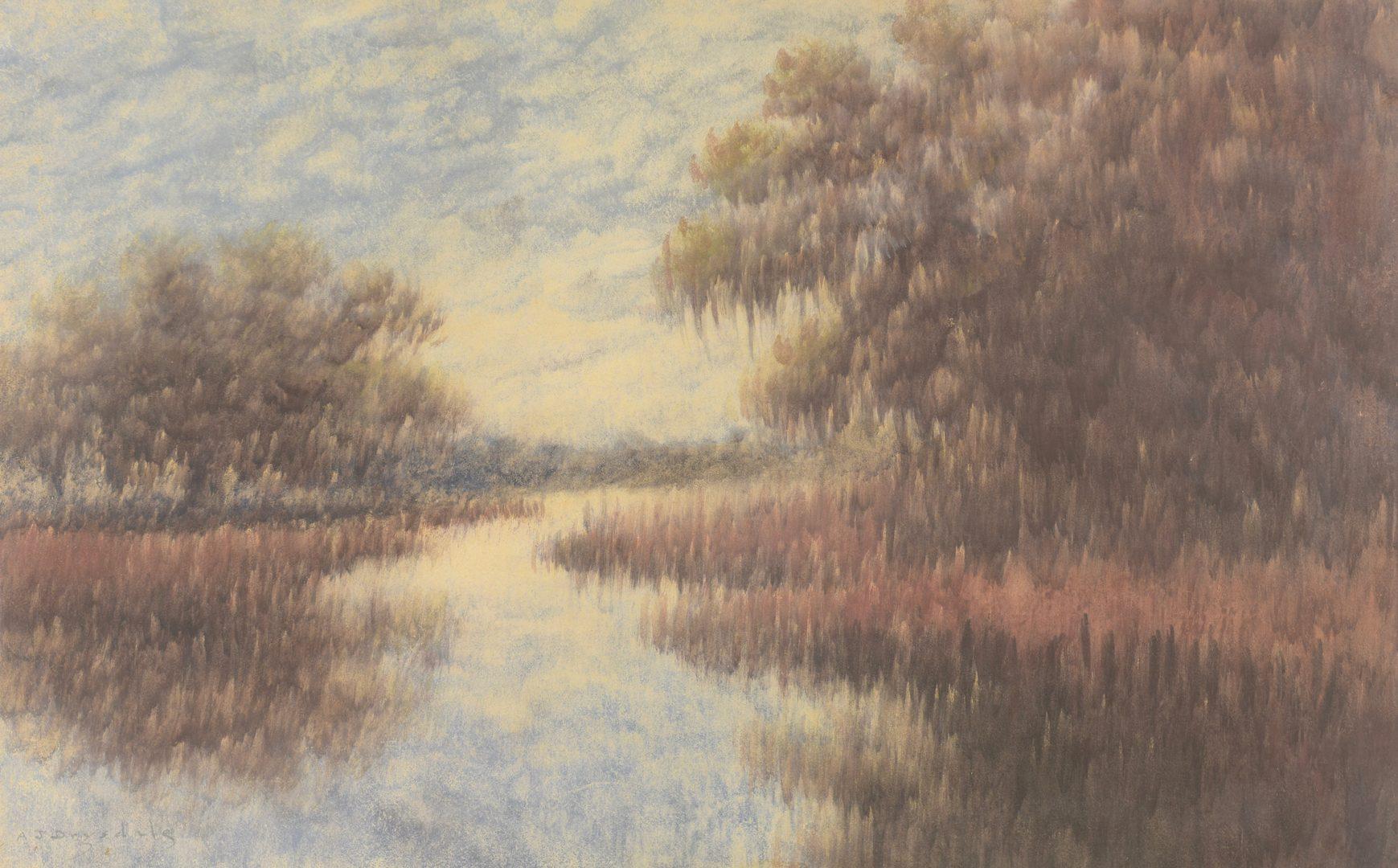 Lot 198: Alexander Drysdale Louisiana Landscape