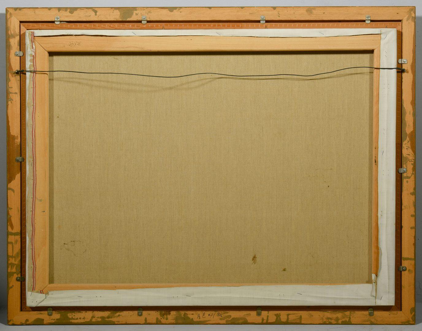 Lot 202: George Cress, AL/TN,  O/C Abstract Still Life