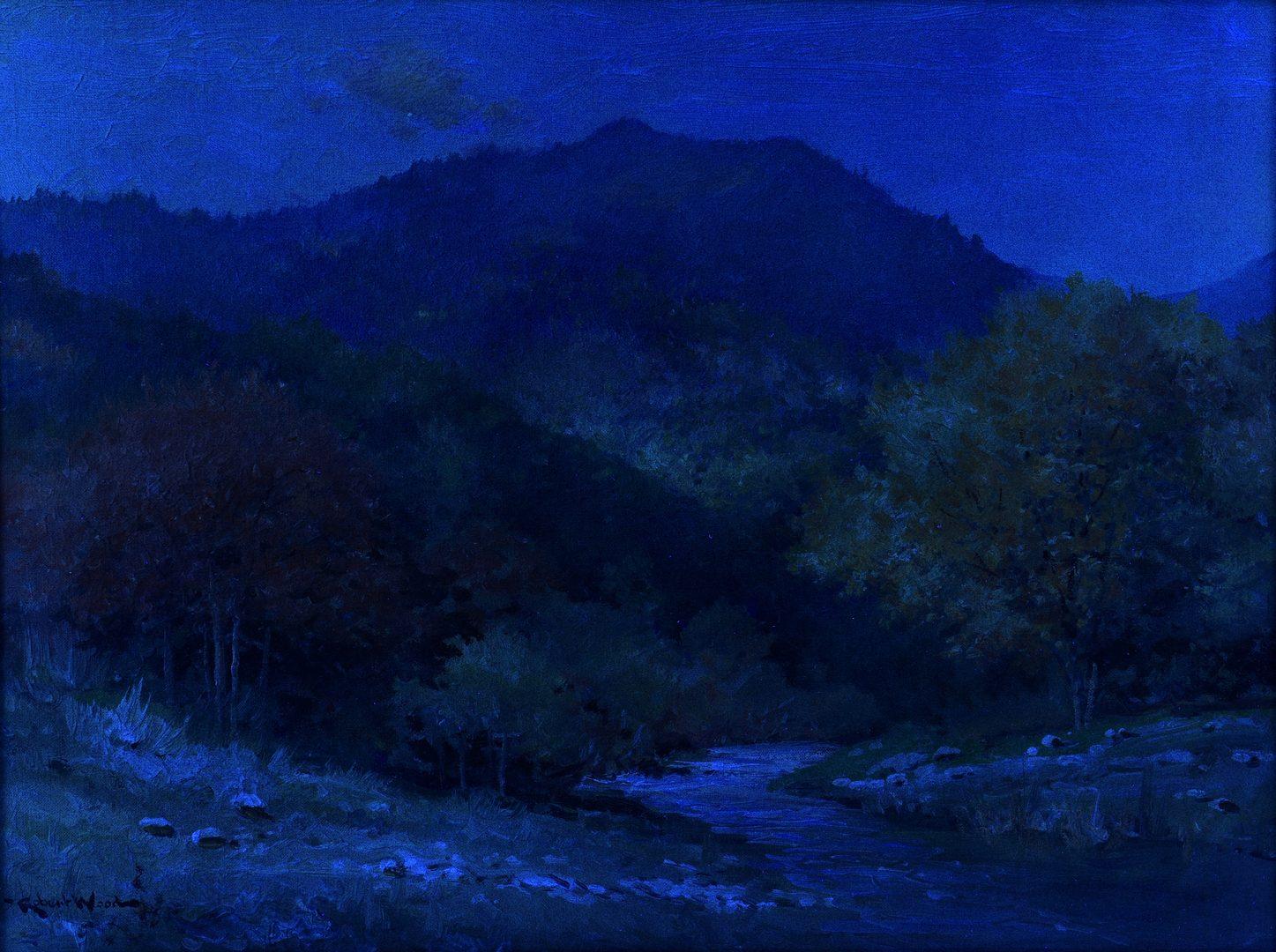 Lot 205: Robert Wood O/C Smoky Mtn Landscape