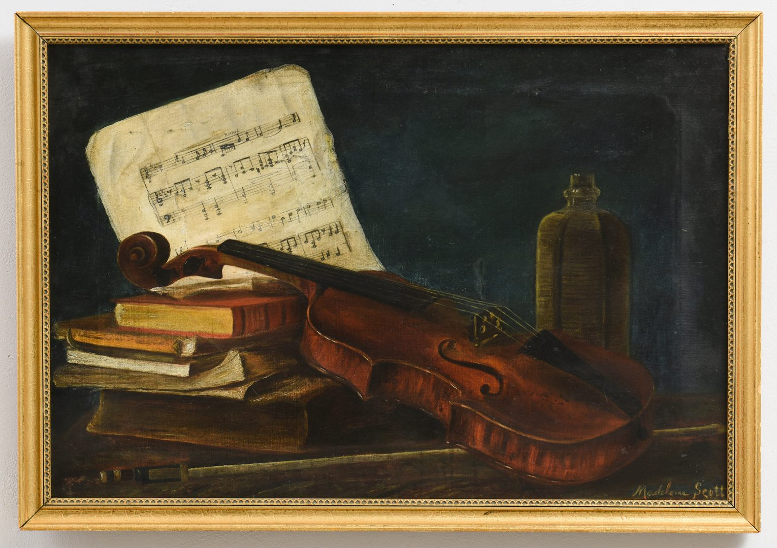 Lot 207: Madeline Scott, East TN O/C Still Life